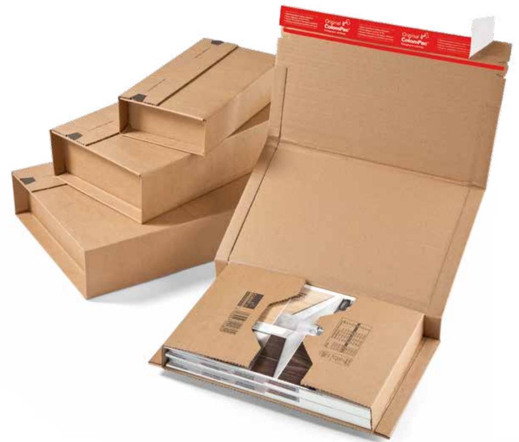 ColomPac CP020 könyvcsomagoló dobozok